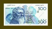 *Belgie - Belgique * 500 Francs Type Meunier **AUNC** Lot 3616 - [ 2] 1831-... : Belgian Kingdom