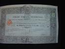 "Obligation""Strade Ferrate Meridionali""Italie Italia 1862 Chemin De Fer. - Railway & Tramway"