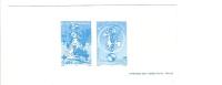 EPREUVE DE LUXE - FRANCE - TIMBRE YVERT N° 3546 ET 3547 - FETE DU TIMBRE LUCKY LUKE - BANDE DESSINEE - Prove Di Lusso