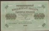 Beau Billet Russe  -  1000 Roubles De 1917  -  AB142904 - Russie