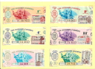 Loterie Nationale / Les Gueules Cassées/4 De 1964 Et 2 De 1961          VP428 - Biglietti Della Lotteria