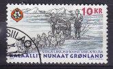 """Greenland 2000 Mi. 346     10.00 Kr Schlittenpatrouille """"Sirius"""" - Usati"""