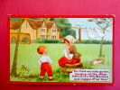 Holidays & Celebrations > Valentine´s Day Tuck Series  Embossed Nursery Rhymes -  1912 Can     =====      ===== Ref  448 - San Valentino