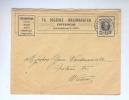 853/18 - Lettre TP Houyoux POPERINGHE 1925 - Entete Verzekeringen Delbeke - Halfmaerten - 1922-1927 Houyoux