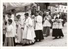 PROCESSION DU15 AOUT 1960 PHOTO LA MONTAGNE DE CLERMONT FERRAND  LIEU CLERMONT OU LE PUY VIERGE NOIRE 2eme Photo - Vierge Marie & Madones