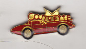 - PIN´S - Petite Corvette Rouge - - Corvette