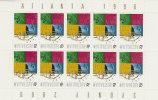 Australia 1996  Atlanta To Sydney Handover Sheetlet MNH - Sheets, Plate Blocks &  Multiples
