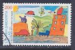 Greece, Scott # 1966 Used Children´s Design Contest, 2000 - Used Stamps