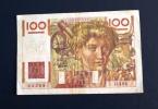 FRANCE - Billet De Banque 100 Francs  - 6 Septembre 1951 - 100 F 1945-1954 ''Jeune Paysan''