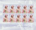 Australia 2001 Queen Elizabeth Birthday  Sheetlet MNH - Sheets, Plate Blocks &  Multiples