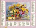 ALMANACH DES PTT  2009 RHONE - Calendars