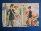 CPA ..ILLUSTRATEUR DAUBER..SERIE SATIRE N°1...MARIAGE..MOQUERIE....RECTO VERSO.. - Altre Illustrazioni