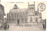"""AMBULANT - CONVOYEUR  :  CV """"LOUVIERS   Eglise Notre- Dame""""   """"EVREUX   A  HONDOUVILLE  *  *  / 22.11.08"""" - Storia Postale"""