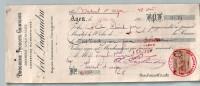Mandat  12/12/1906  -  AGEN  Vers  VERTEUIL  D´  AGEN  -  AVIT  LACHAUDRU  à  DEGALS  &  DUMAS  -  Droguerie,  Produit - Lettres De Change