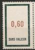 FRANCE Fictif  N° F163 Neuf Et Sans Charnière - Phantomausgaben