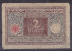 ALLEMAGNE - Billet De 2 Mark (1920) - [ 3] 1918-1933 : República De Weimar