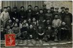 VINCENNES Carte Photo Bromure Groupe Ouvriers Forges Vincennes 1907 RARE TOP état Superbe - Vincennes