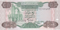 LIBYA  1/4 Dinar  ND/1984 ***UNC*** P-47 - Libya