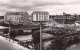 CAEN__CPSM _La Riviere L´orne Et Les Nouveaux Immeubles - Caen