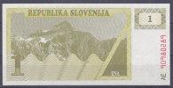 SLOVENIE - Billet De 1 Ena - Slovénie