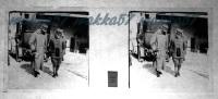 $3E16- WWI - S. Maestà Il Re E Duca D´aosta Alla Mariosina? Aprile 1916 - Vera Diaposivita In Vetro - Diapositiva Su Vetro