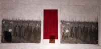 $3E16 - WWI -  Prigionieri Austriaci A Mascarina (Pieve Fissiraga Lodi) Marzo 1916- Vera Diapositiva In Vetro - Diapositiva Su Vetro