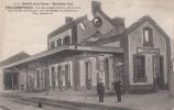 FERE-Champenoise - La Gare Bombardée Le 7 Septembre 1914 Par L Artillerie Française Pour En Déloger Les Allemandsdép51 - Fère-Champenoise