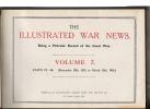 THE ILLUSTRATED  WAR NEWS  W. H. DOUBELL HARDCOVER, COPERTINA RIGIDA COUVERTURE DUR  TAPA DURA  OHL - Libri, Riviste, Fumetti