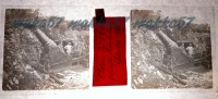 $3E17- Obice Da 280 Presso Boschini Settembre 1916- Vera Diapositiva In Vetro - Diapositiva Su Vetro