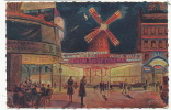 Moulin Rouge Cinema Les Feeries Nocturnes De Paris No 9 - Paris (18)