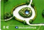 X BLU RICARICA CONTINUA 8 ITALIA USATA GARDEN - Fiori