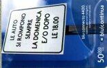 BLU RICARICA CONTINUA 50000 ITALIA USATA - Automobili