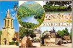 Marcillac La Croisille ** Belle Carte Quasi-NEUVE** Ed France Regard - Autres Communes