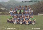 CALENDARIETTO PICCOLO 10,50 X 8 CAMPIONATO 1982-1983 PARTITE SAMPDORIA DEL SECOLO XIX  COMPLETO E INTEGRO-ORIGINALE 100 - Formato Piccolo : 1981-90