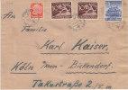 D-München 1941. Presse Press. 2 Zeitungsmarken 10 Pfg Als Brieffrankatur Verwendet (4.144) - Cartas