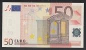 EURO - ITALIA  - 2002 - BANCONOTA DA 50 EURO SERIE S (J073B1) - NON CIRCOLATA (FDS-UNC) - OTTIME CONDIZIONI. - EURO