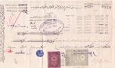 Superbe Document Avec Cachet De L'Agence Générale Des Chemins De Fer Orientaux, Schenker & Cie, Constantinople - 15. - Timbres
