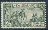 NEW ZEALAND 1935 CAPT COOK 2 SHILLINGS SC# 197 VF OG LH FRESH - New Zealand