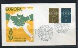 Luxembourg 1959 567-68 MI 609-10 FDC Europa - FDC