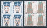 Bund 1374/75 Viererblock ** Mi. 14,- - Unused Stamps
