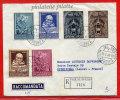 VATICAN LETTRE RECOMMANDEE DU 18/03/1960 DU VATICAN POUR PITHIVIERS FRANCE COVER - Marcophilie - EMA (Empreintes Machines)