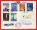 VATICAN LETTRE RECOMMANDEE DU 12/11/1959 DU VATICAN POUR PITHIVIERS FRANCE COVER - Marcophilie - EMA (Empreintes Machines)