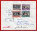 VATICAN LETTRE RECOMMANDEE DU 26/10/1962 DU VATICAN POUR PITHIVIERS FRANCE COVER - Marcophilie - EMA (Empreintes Machines)