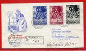 VATICAN LETTRE RECOMMANDEE DU 14/12/1959 DU VATICAN POUR PITHIVIERS FRANCE COVER - Marcophilie - EMA (Empreintes Machines)