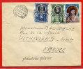 VATICAN LETTRE DU 21/06/1954 DU VATICAN POUR PITHIVIERS FRANCE COVER - Marcophilie - EMA (Empreintes Machines)