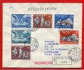 VATICAN LETTRE RECOMMANDEE DU 05/08/1961 DU VATICAN POUR PITHIVIERS FRANCE COVER - Marcophilie - EMA (Empreintes Machines)