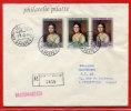 VATICAN LETTRE RECOMMANDEE DU 01/08/1962 DU VATICAN POUR PITHIVIERS FRANCE COVER - Marcophilie - EMA (Empreintes Machines)