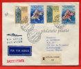 VATICAN LETTRE RECOMMANDEE DU 25/10/1961 DU VATICAN POUR PITHIVIERS FRANCE COVER - Marcophilie - EMA (Empreintes Machines)
