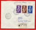 VATICAN LETTRE RECOMMANDEE DU 12/07/1962 DU VATICAN POUR PITHIVIERS FRANCE COVER - Marcophilie - EMA (Empreintes Machines)