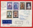 VATICAN LETTRE RECOMMANDEE DU 28/12/1961 DU VATICAN POUR PITHIVIERS FRANCE COVER - Marcophilie - EMA (Empreintes Machines)